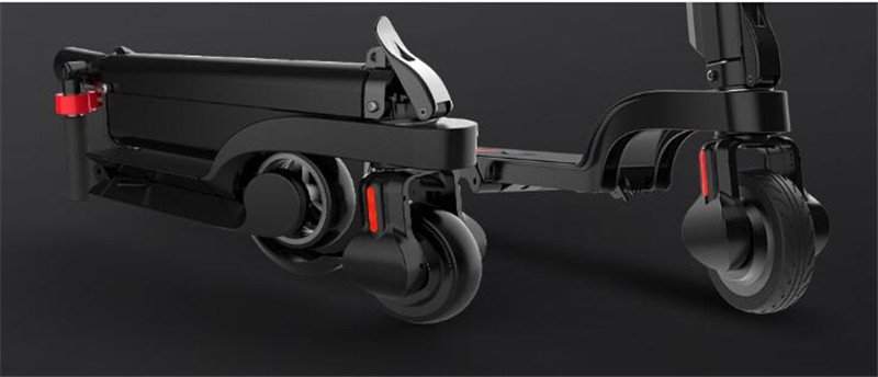 HX X6 Folding Electric Scooter Two Wheel Electric Scooters Mini Protable Backpack E-Scooter Electric Bike Ebike