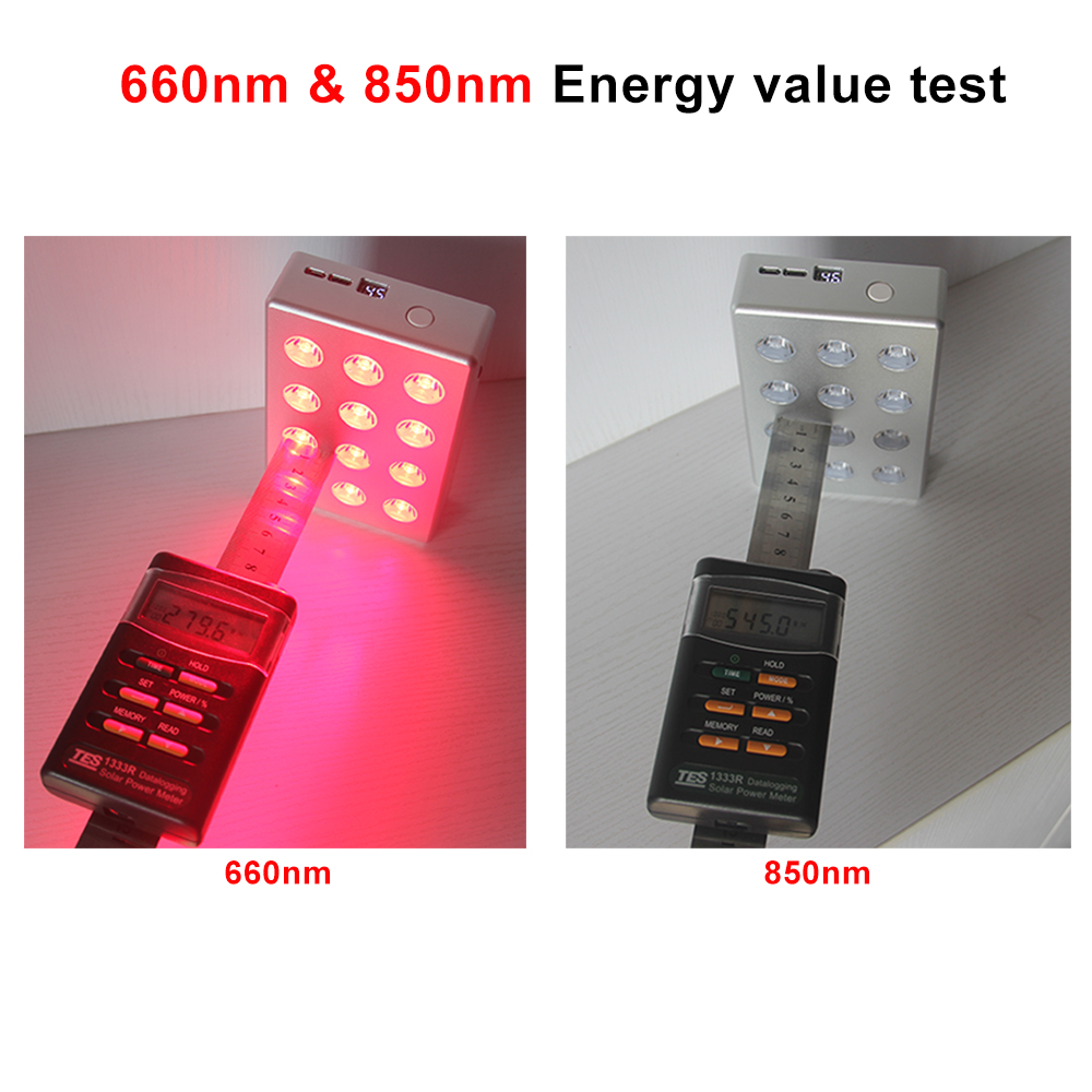 Professional Factory TL12 Led Red Light Therapy With Red NIR Battery Easy To Take For Waist And Back Pain