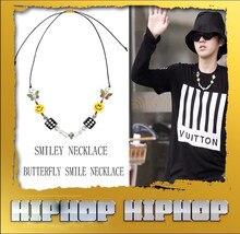 Mode neue männer frauen Schmetterling Würfel Kühlen Schädel Halskette die gleiche straße hip hop Smiley Halsketten paar wilde halskette heißer verkauf