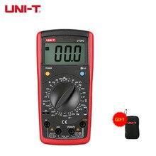 UNI T ידני טווח דיגיטלי מודד UT39A/B/C/E UNI T Multitester קבלים טרנזיסטור Tester DC AC וולט מד תדר