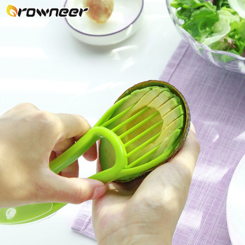 Knife for cutting avocado, shea butter and other fruits 1