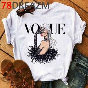 Image 4 - New Vogue Princess Harajuku Graphic T Shirt Women 2020 90s  Kawaii  Ulzzang Cartoon T shirt  Grunge Hip Hop Tops Tees Female
