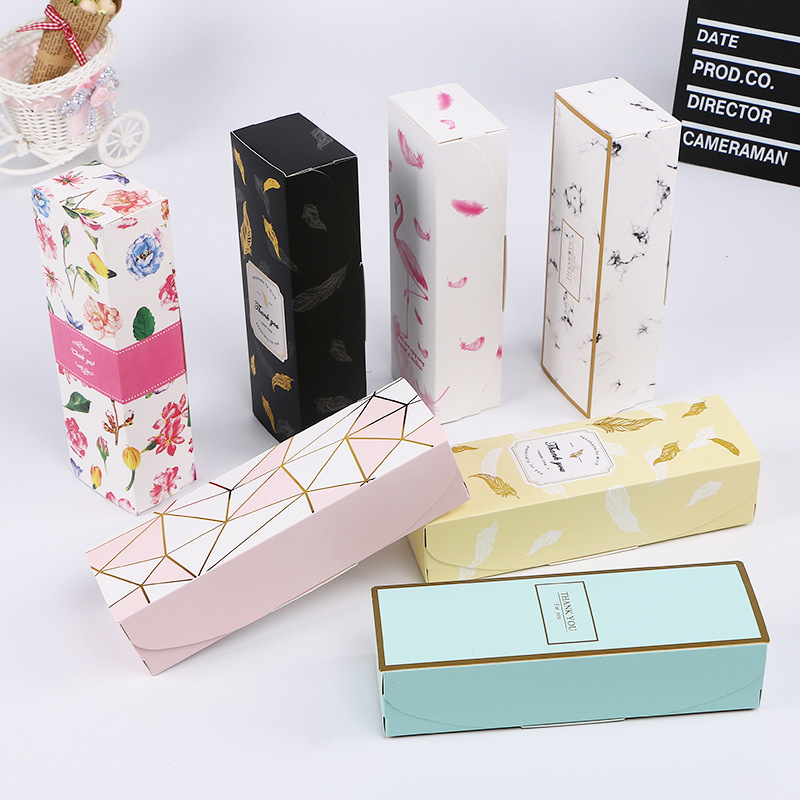 MissYe Store Valentine's Day Gift Wrap Storage Paper Box As Gift Packaging DIY Four Style Candy Chocolate Pack