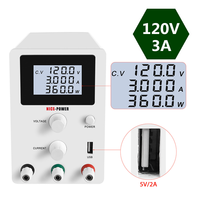 4 Digital Display DC Lab Power Supply Adjustable 30v 10a Digital Laboratory Switch Power Supplies 60V 120V 3A 5A Bench Source