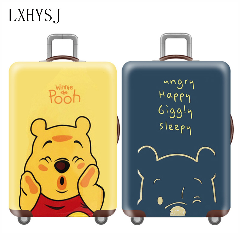 Elasticity Travel Luggages Protective Cover Trolley Dust Cover For 18-32 Inch Suitcase Case Baggage Cover Travel Accessories
