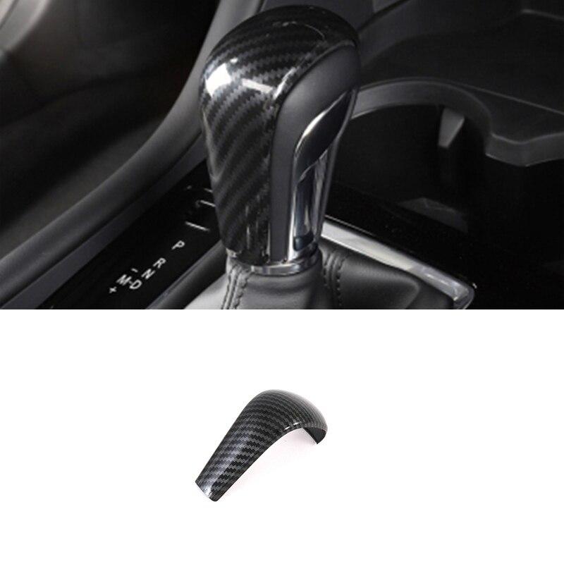 Красный/синий/серебристый парковочный ручной тормоз, авто фиксация и мультимедийная кнопка, крышка рамки, накладка, наклейка для Mazda 3 Axela 2020 ...