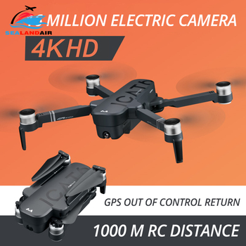 RC Drone 4K with ESC Dual HD Camera 5G WIFI Video FPV Optical Flow Helicopter Brushless Foldable Drone GPS Follow Me Quadcopter 1