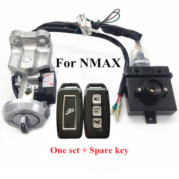 Modified motorcycle parts nmax Keyless entry system nmax smart key Entry Anti-line Remote Central keys for yamaha nmax 155 150