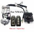 Système d'entrée sans clé de moto   Pièces de moto modifiées nmax  clé intelligente nmax  touches centrales Anti-ligne pour yamaha nmax 155 150