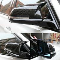 Side Mirror case 1 Pair Carbon Fiber Rearview Mirror Cover Caps for BM W F20 F21 F22 F30 F32 F36 durable Rear view mirror case