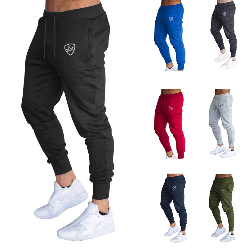 White Pants Trousers For Men Men's Sports Joint Slim Fit Trousers CA