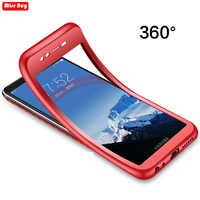 Fundas de teléfono de silicona de 360 grados funda TPU suave para Motorola Moto G7 Plus G5S E4 PLUS P30 Note funda para Moto P30 Note Fundas Capa