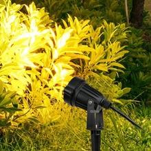 Spotlights Lawn-Lamp Spike Garden-Path Outdoor Waterproof LED 3W 12W COB 5W AC 220V DC12V