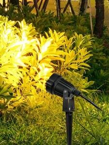 Spotlights Lawn-Lamp Spike Garden-Path Outdoor Waterproof 3W LED 12W COB 5W DC12V AC