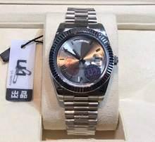 U1-Reloj de pulsera para hombre, de marca de lujo, de varios colores, resistente al agua, mecánico automático, con fecha, gran oferta