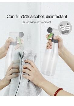 500ML/800ML Spray Bottle Refillable Mist Sprayer Bottle Portable Plastic Big Capacity Spray Bottle Alcohol Disinfection Tools