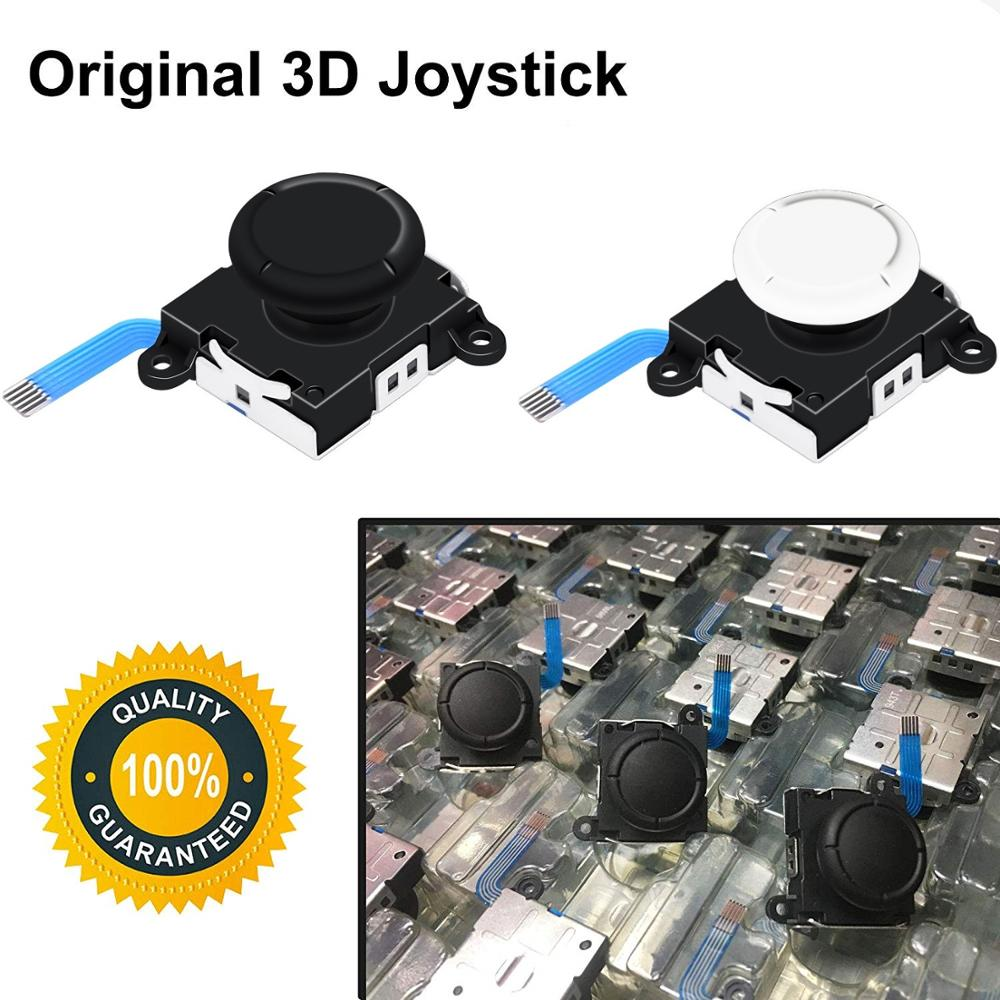Original 3D Analog Joystick Thumb Sticks Sensor Replacements For Nintendo Switch Controls | Repair Joycon Controller