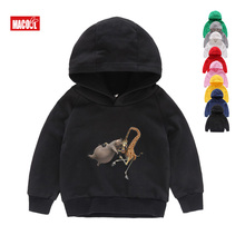 Boys Winter Clothes New Hoodies Sweatshirts Cartoon Madagascar Lion Alex Cute Tops Girls for 3-15 Years
