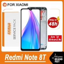 """100% Getest 6.3 """"Display Vervanging Voor Xiaomi Redmi Note 8T Lcd Touch Screen Digitizer Vergadering Voor M1908C3XG model"""