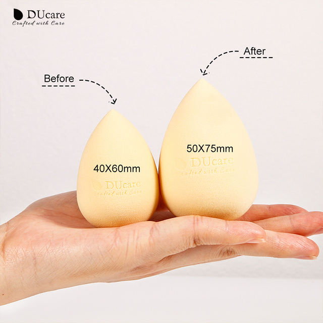 DUcare 1pcs Makeup Sponge Professional Cosmetic Puff For Foundation Concealer Cream Make Up Soft Water Sponge Puff Wholesale 4