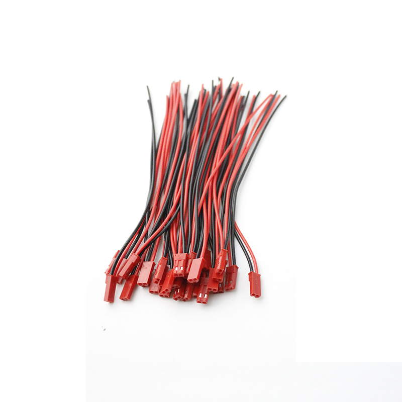 2-10Pairs 2 Pin Connector JST Plug Cable Male/Female For RC BEC Battery Helicopter DIY FPV Drone Quadcopter 100/150mm