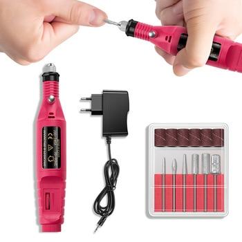 20000/10000RPM Electric Nail Drill Machine Manicure Set Pedicure Nail Drill File Gel Remove Polishing Tools Portable Equipment 1