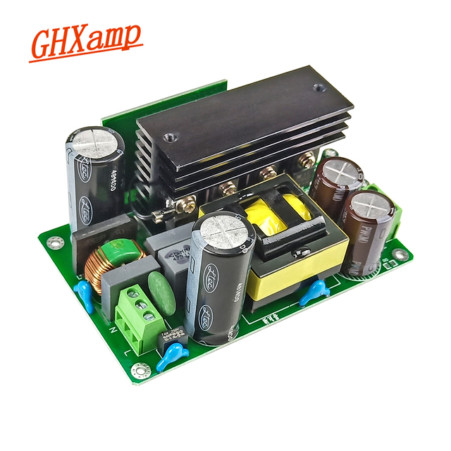 GHXAMP 500W מגבר מתג אספקת חשמל כפולה DC 80V 24V 36V 48V 60V LLC רך מתג טכנולוגיה להחליף טבעת פרה שדרוג 1PCS