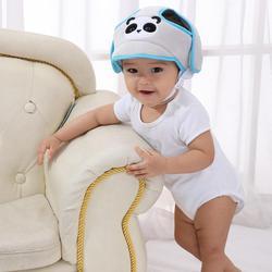 Детский шлем с мультяшными животными, детская шапочка, аксессуары для детской одежды, защитный бампер, Противоударная шапочка, шапочка для ...