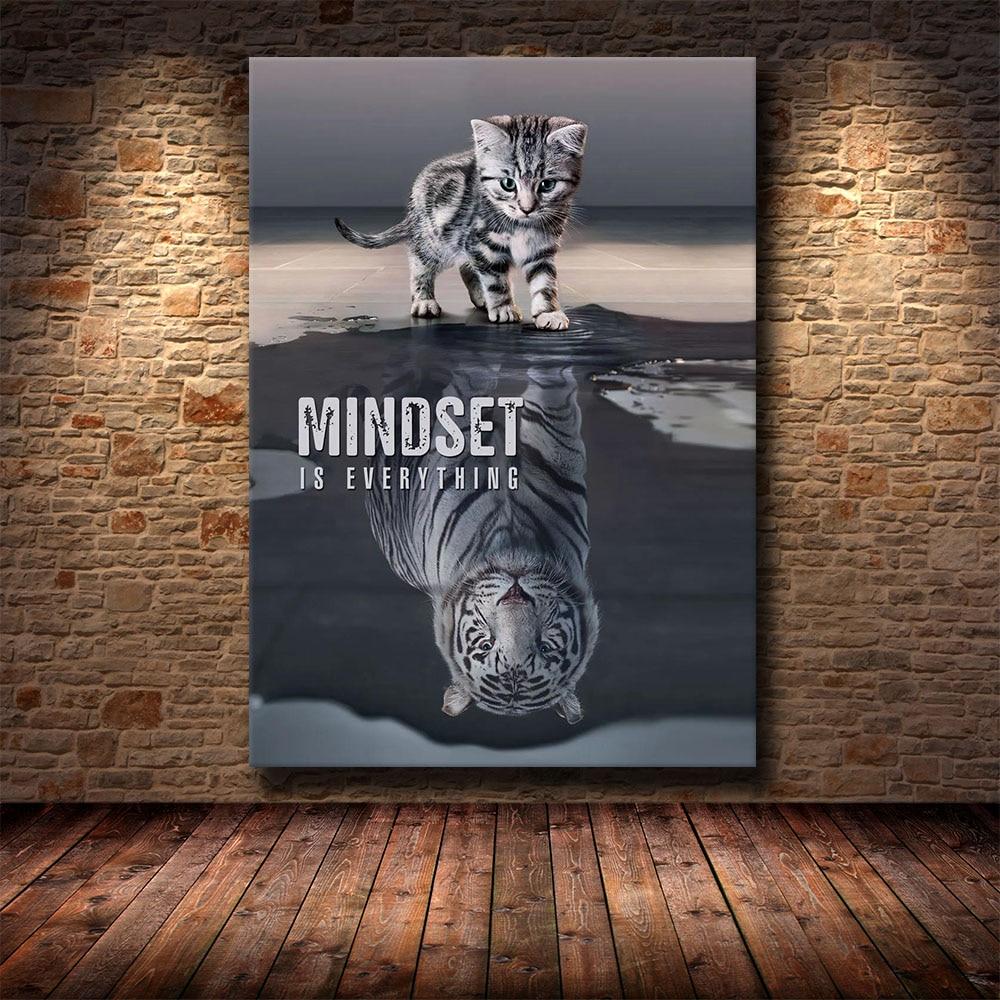 HD Печать на холсте искусство вдохновляющие успехи Цитата мотивационные цитаты художественный плакат печать на стене картина для гостиной|Рисование и каллиграфия|   | АлиЭкспресс