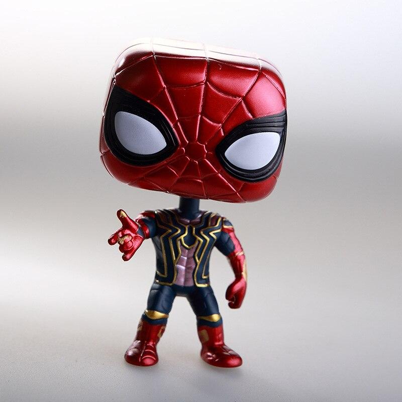 Поппен мститель: эндшпиль #287 # Железный Spidor, фигурка коллекция игрушек для