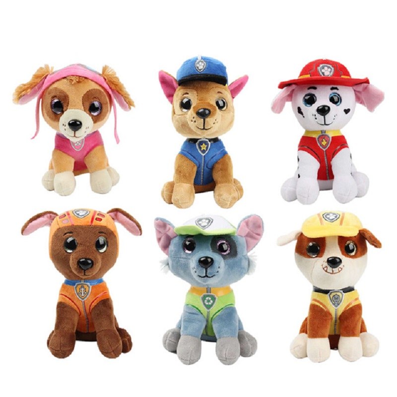 25CMPaw Patrol Dog Skye Stuffed & Plush Doll Anime Kids Toys Action Figure Plush Doll Model Stuffed And Plush Animals Toy Gift