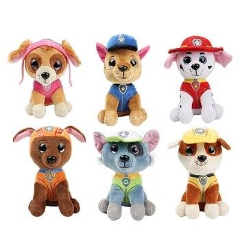 цена на 25CMPaw Patrol Dog Skye Stuffed & Plush Doll Anime Kids Toys Action Figure Plush Doll Model Stuffed and Plush Animals Toy gift