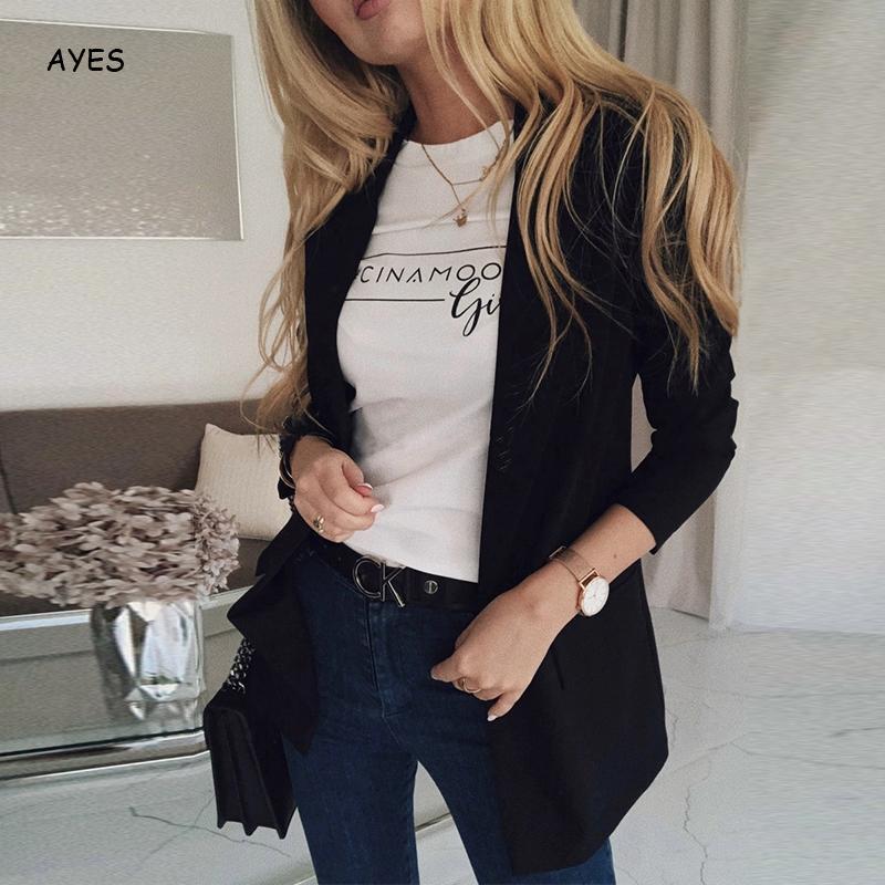 Women Blazers And Jackets Pink Ladies Blazer Black Office Business Suit Coat Plus Size Female Blazer Coat Women'S Jacket 5xl 4xl