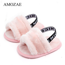 Winter Soft Sloes First Walker Baby Girl Slipper Breathable Baby