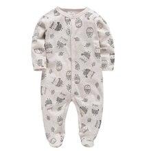 Kavkas детские комбинезоны, комбинезон из органического хлопка, детская одежда для подарков, бежевый комбинезон для маленьких мальчиков и девочек, одежда для новорожденных