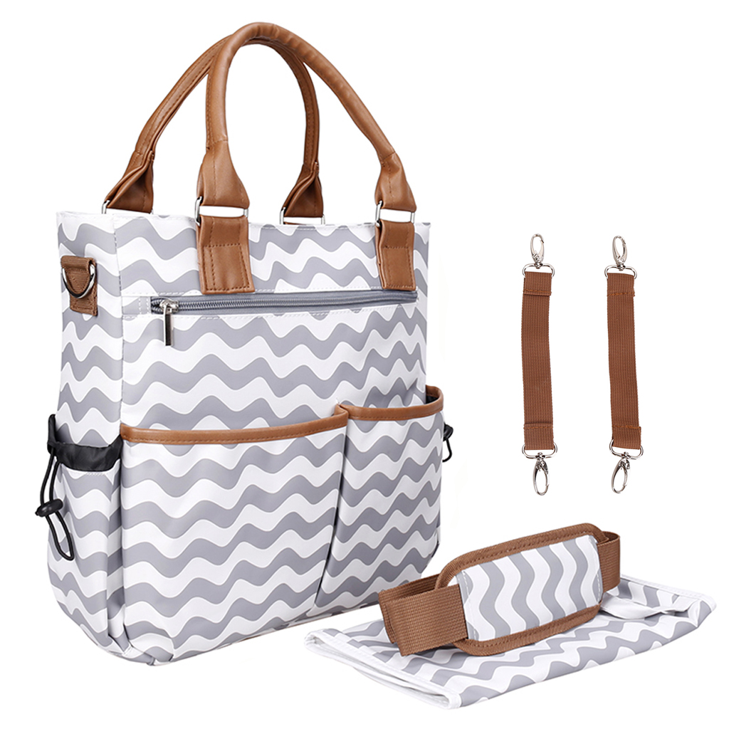Hand Carry One-shoulder Baby Diaper Bag Mommy Mother Changing Nappy Bag Travel Maternity Bags For Mom Stroller Organizer