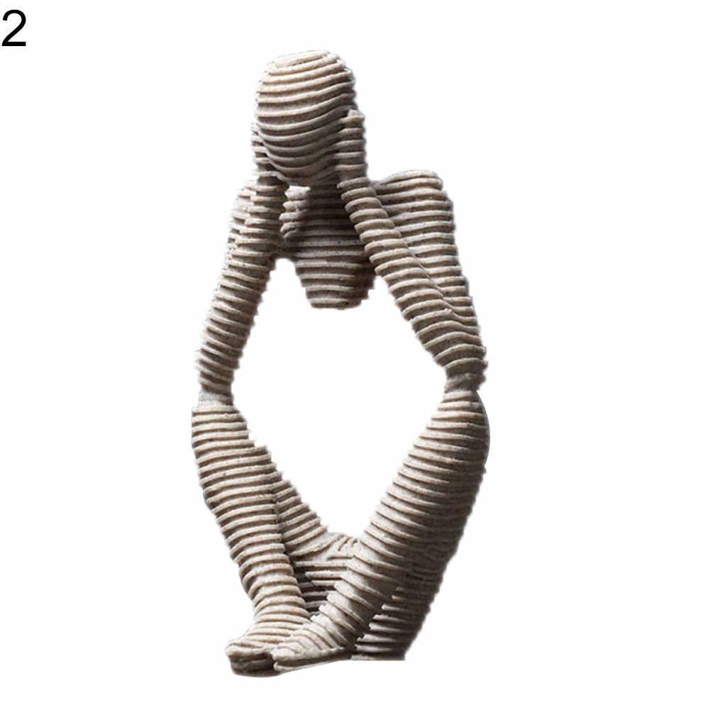 Avrupa tarzı soyut düşünür heykeli heykel kabartmalı heykelcik ev dekor ekleyebilirsiniz bir elemanı in-spiration to her uzay