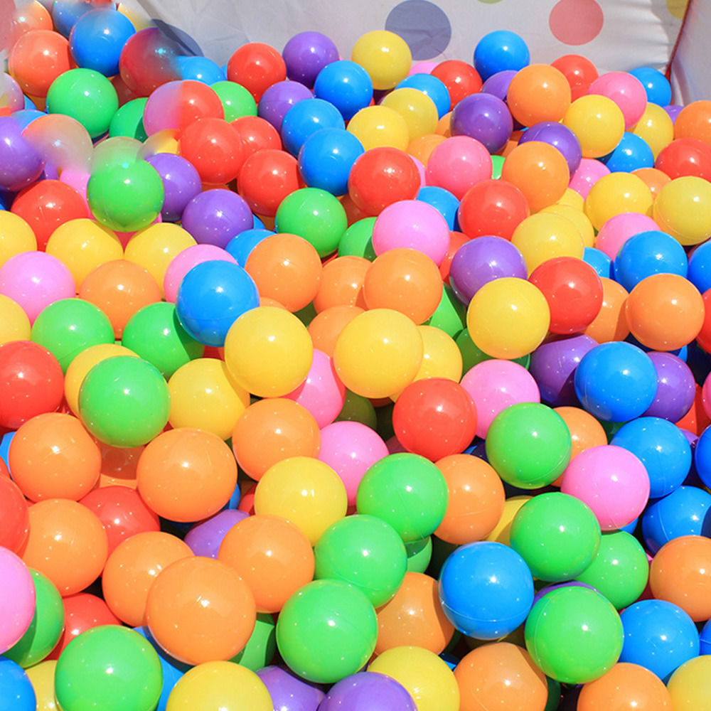 200pcs/Lot 5.5cm Soft Ocean Ball Swim Pit Toys Baby Kids Colorful Air Ball Outdoor Fun Toys Children Kid Water Pool Ball