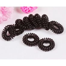 10 Pcs/set Big Telephone Line Hairbands Headband Elastic Hair Bands Women Girl Ring Scrunchy Hair Accessories