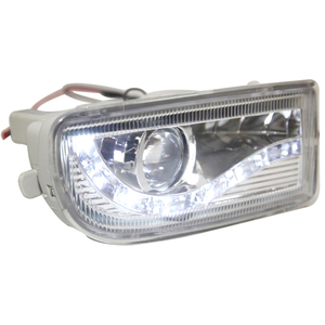 Image 4 - A pair Modified front fog lamp For Toyota Land Cruiser Fj100 Front Bumper lamp Daytime Running Light With Lens