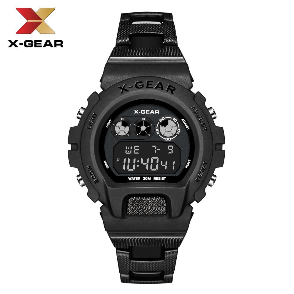 Relógios de Pulso Marca de Luxo Relógios para Homem m à Prova Digital Grande Relógio Masculino Legal Esporte 50 Dwaterproof Água 0931