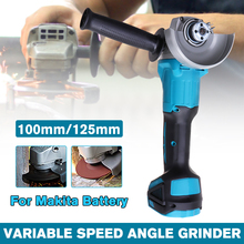 Angle-Grinder-Machine Power-Tool Woodworking Battery--Tool-Only Electric 4-Speed 18v Makita