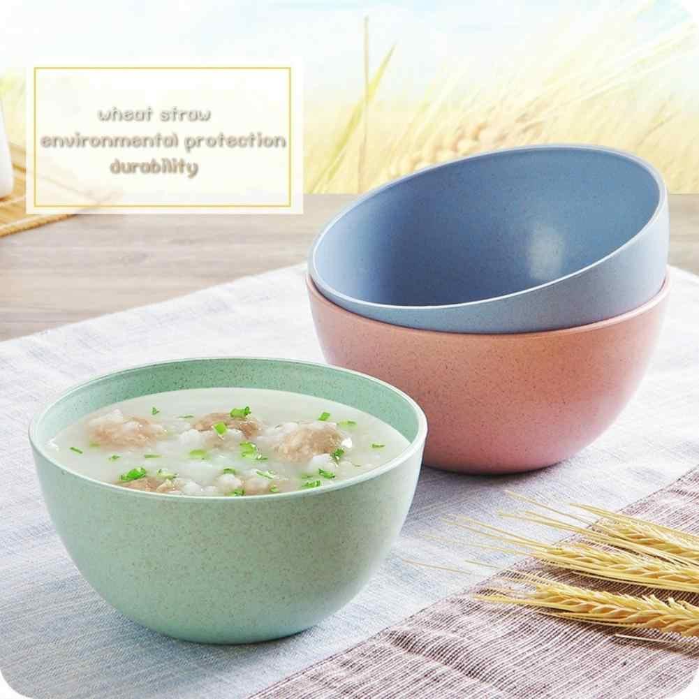Milieuvriendelijke Tarwestro Kinderen Rijst Noodle Slakom Huishoudelijke Servies 2020
