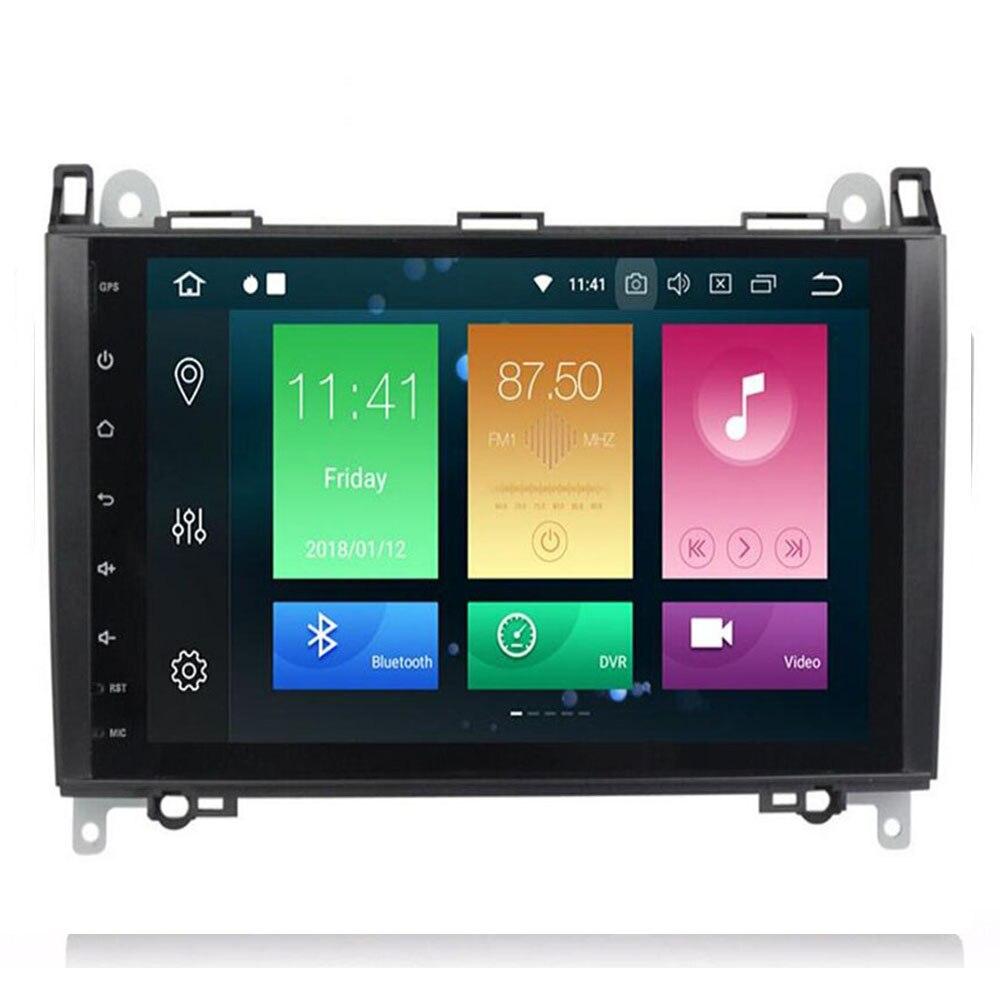 9Inch Android 9 Auto GEEN DVD Radio voor Mercedes/Benz/Sprinter/B200/W245/B170 /W209/W169 VW Crafter met BT 4GWifi GPS Radio 4GRAM - 3