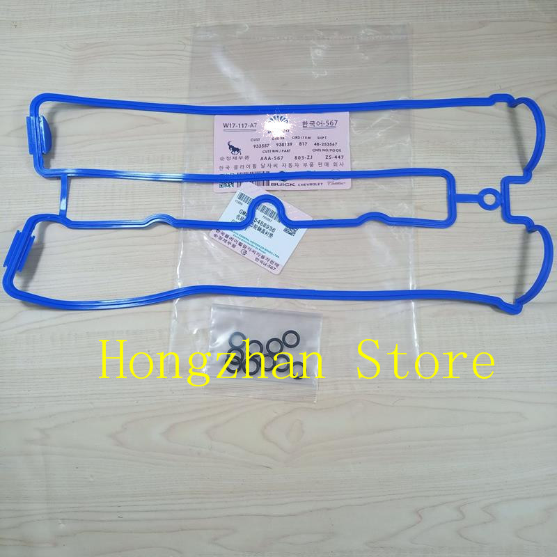 Image 4 - Aluminum cover Valve Cover Gasket for Daewoo Buick Excelle 1.8 Regal Chevrolet Captiva Opel Antara 2.4L Epica OPEL Vectra Astra-in Block & Parts from Automobiles & Motorcycles