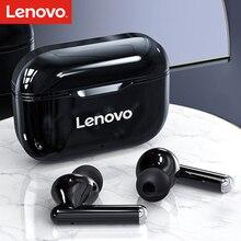 Lenovo LivePods LP1 Flagship Premium Edition gerçek kablosuz kulaklık BT 5.0 spor kulaklık TWS Stereo müzik kulaklık