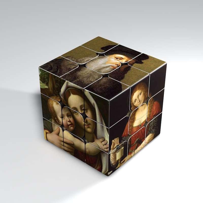 Hot Selling Magic Cube High Quality Child Interesting Toys UV Print 3x3 Speed Cubo Magico Children's Educational Toys 3x3x3