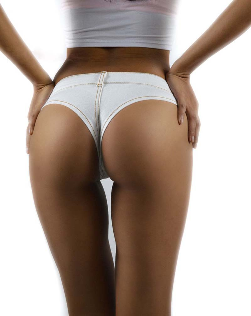 11 women white shorts