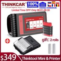 Thinkcar-escáner profesional Thinktool Mini OBD2, sistema completo de diagnóstico, prueba activa, escáner automático de coche, codificación ECU
