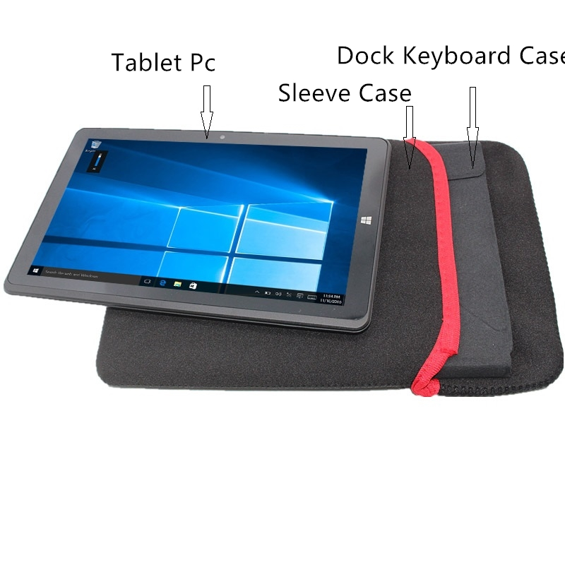 G4 2 In 1 Tablet Windows 10 8.9 Inch 1280x800 IPS 1+32GB Original Dock Keyboard Case Gift Sleeve Case HDMI Wifi Bluetooth